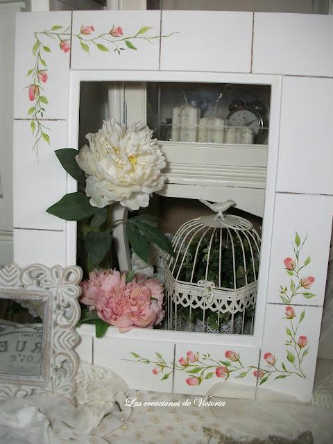 Las creaciones de Victoria.Vintage.Restauración de marcos y decoración