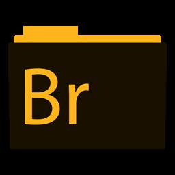 Preview of bridge, software, logo, folder icon