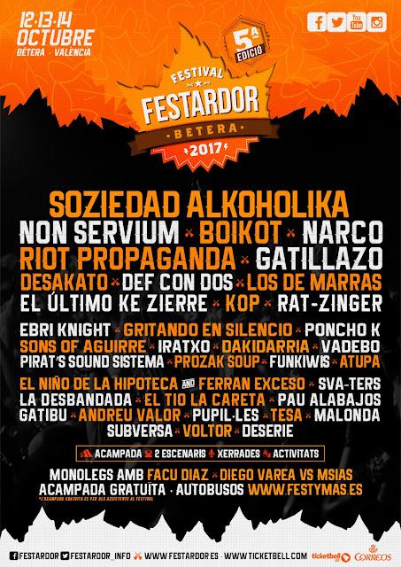 Cartel, Festardor, 2017, Festival, Música
