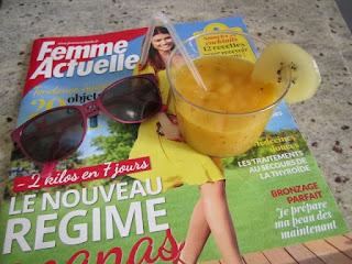 Smoothie kiwi jaune Zespri SunGold mangue