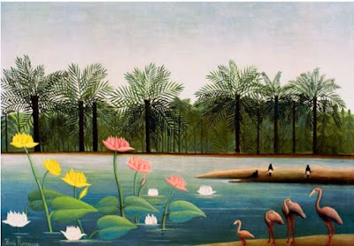H.Rousseau, The Flamingoes - Henri Julien-Félix Rousseau