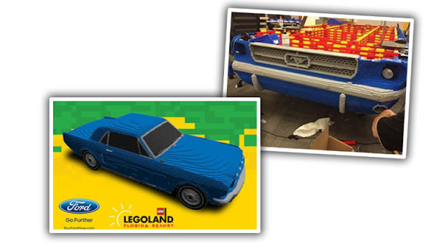 lego legoland ford mustang