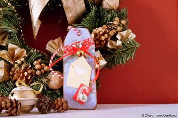 Addobbare l'albero di Natale col riciclo creativo.