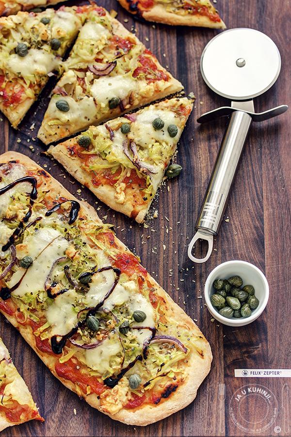 Pizza sa tikvicama