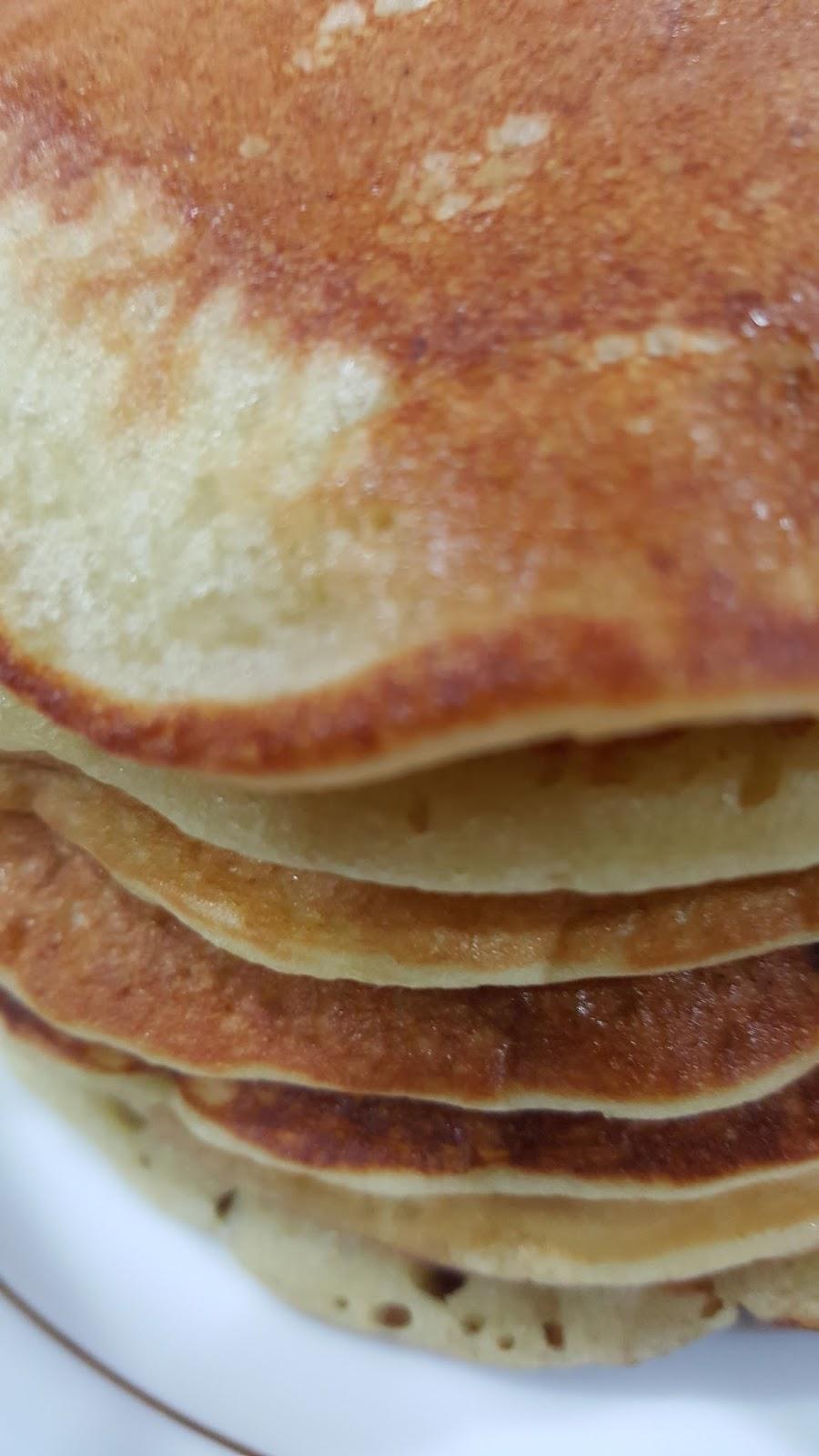My Homerecipes Pancake Pisang Gebu Lembut