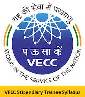 VECC Stipendiary Trainee Syllabus