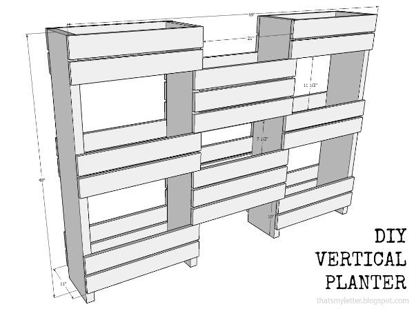 That S My Letter Quot D Quot Is For Diy Workshop Vertical Planter