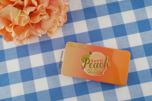 Too Faced Sweet Peach Glow review swatches
