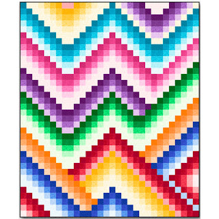 Quilt Inspiration: Free pattern day: Bargello Quilts : quilting treasures fabrics free patterns - Adamdwight.com