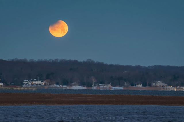 Eclipse Lunar Total de 31 de janeiro de 2018 - Nova Jersey, Steve Scanlon