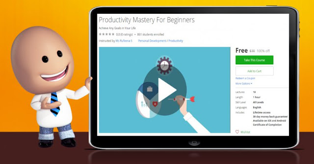 [100% Off] Productivity Mastery For Beginners  Worth 30$