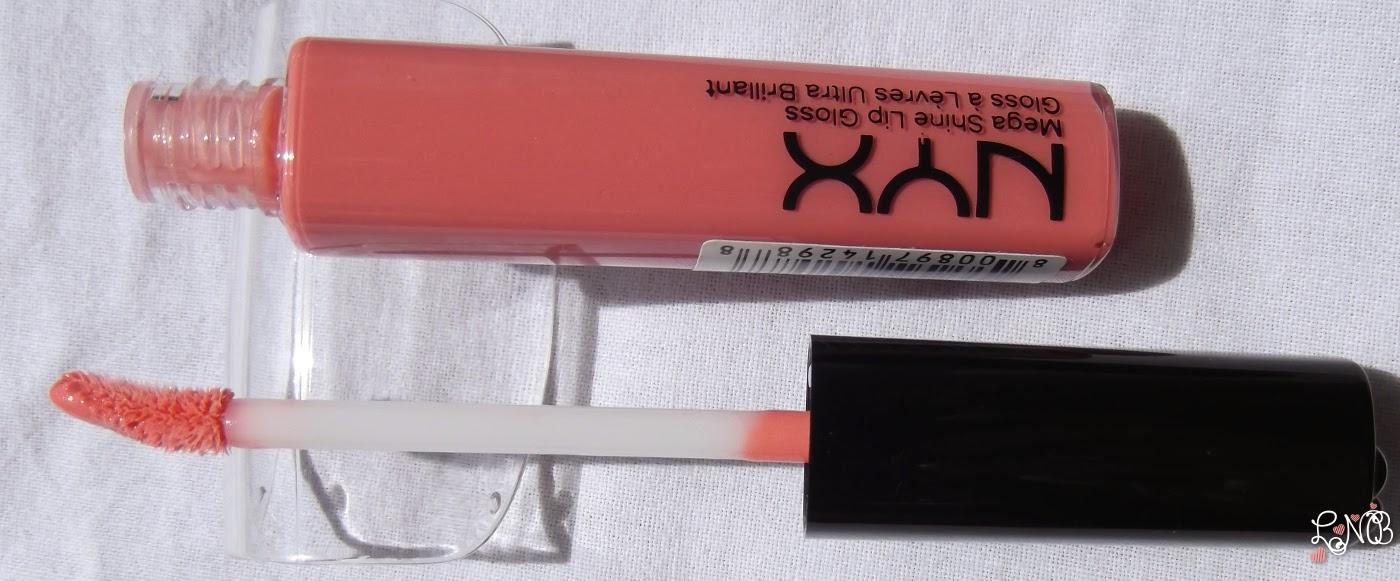 NYX  Mega Shine Lip Gloss - Nude Pink