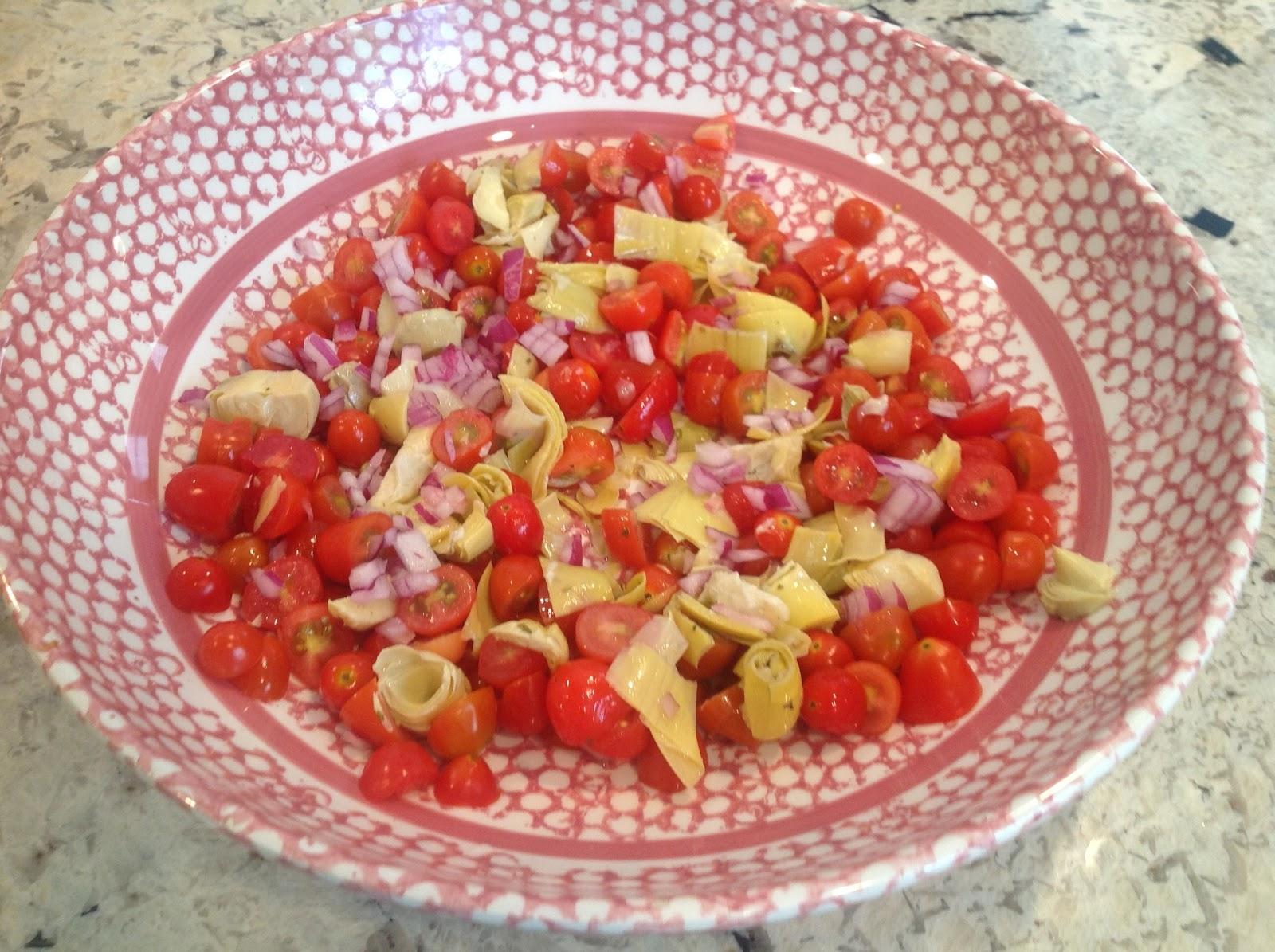 Gluten Free A Z Artichoke Salad For Cinco De Mayo