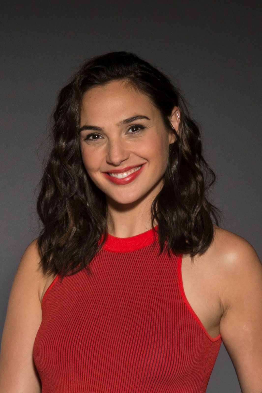 Gal Gadot Shoot in Red dress for Associated Press, 2017