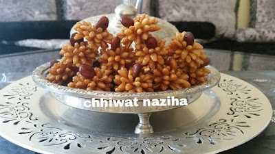 حلويات رمضان : حلويات معسلة باشكال متنوعة من بنفس العجين