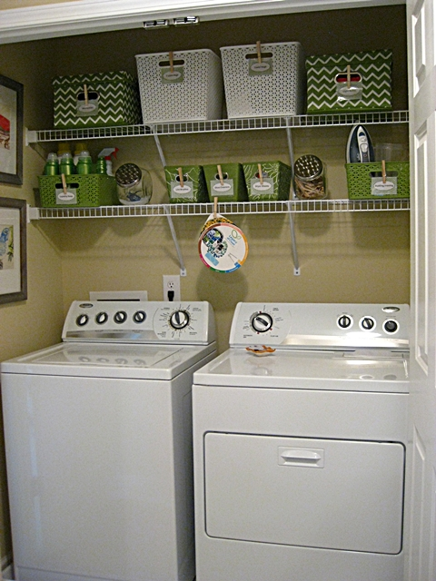 laundry room closet organization | Eat. Sleep. Decorate.: Laundry Closet Makeover- Before & After