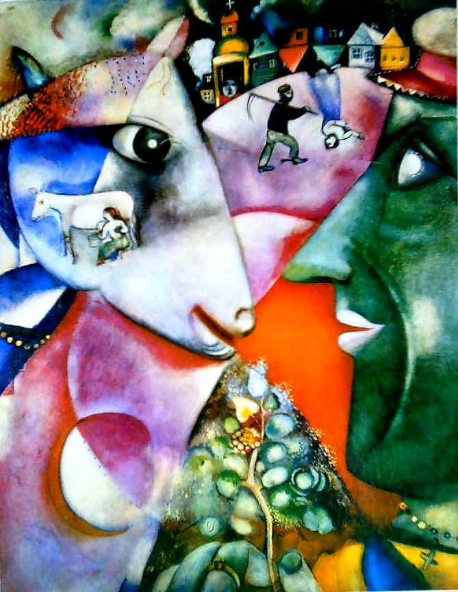 Eu e a Aldeia - O Surrealismo glorioso de Marc Chagall