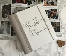 wedding planner book and wedding magazine