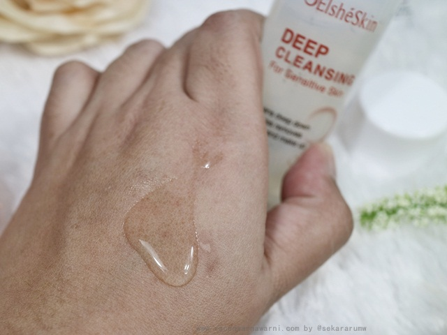 Elsheskin Deep Cleansing For Sensitive Skin Texture
