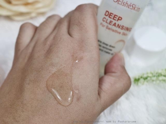 Elsheskin Deep Cleansing For Sensitive Skin Texture