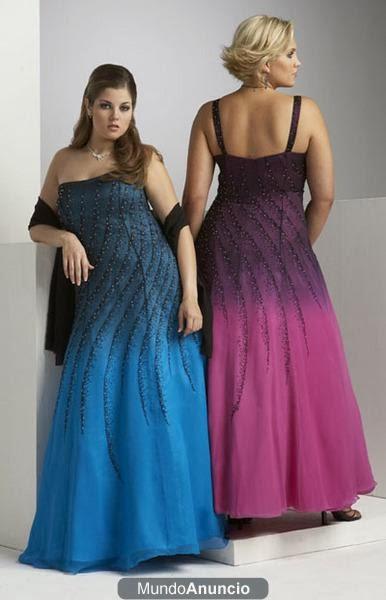 modelo vestidos longos degrade