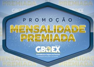 Cadastrar Promoção GBOEX 2017 Mensalidade Premiada