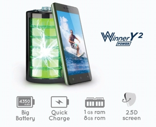 Cara Instal Ulang Evercoss Winner Y2 Power R50B Via PC - Mengatasi Bootloop