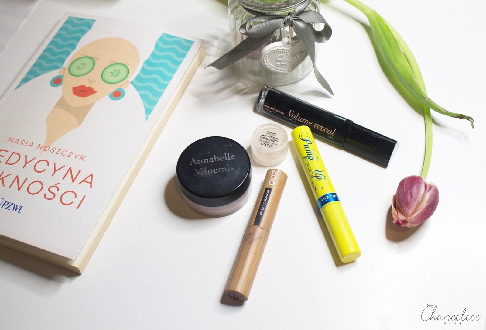 anabelle minerals, zao makeup, lovely, bourjois - zużycia kwietnia 2017