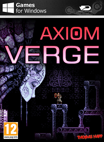 labyrinthine world in order to learn its secrets and uncover  Axiom Verge-DARKSiDERS