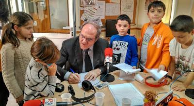 Hacer radio infantil con niños y literatura siempre es acertado