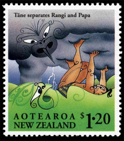 Sello Nueva Zelanda