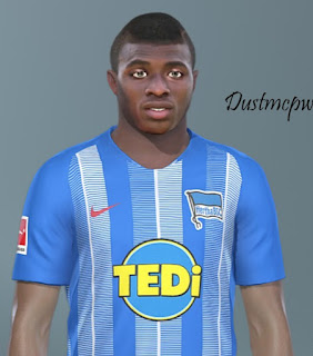PES 2019 Faces Javairô Dilrosun by Dustmcpw