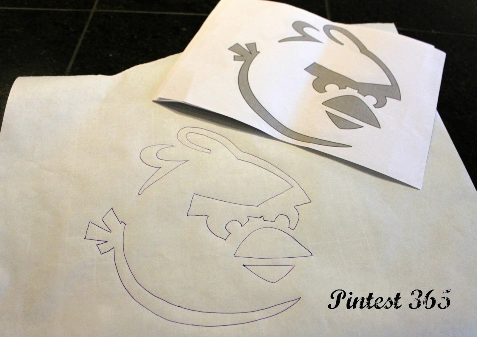 Pintest 365 : Day 88: Freezer Paper Stencil Tutorial (success)