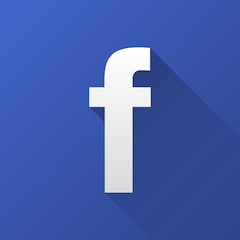 facebook flat icon
