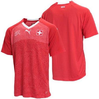 Jersey Swiss New 2018