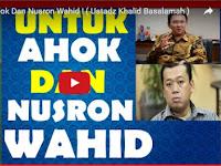 Soal Ahok, Alumnus Universitas Madinah: Kalau Ada Umar Sudah Melayang Lehernya