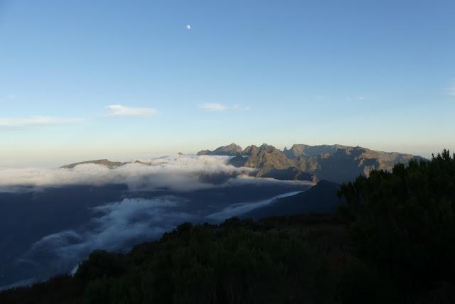 Blick aufs Zentralgebirge Madeiras
