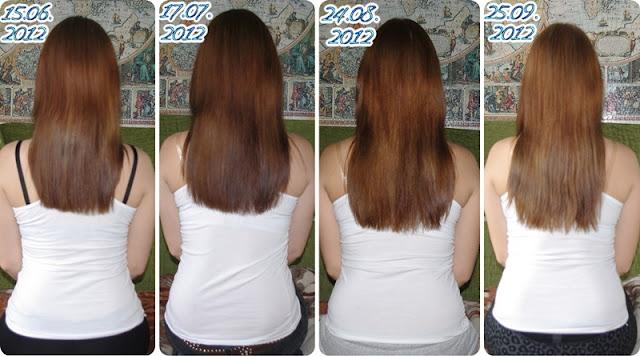 Zapuszczanie włosów - wrzesień :)