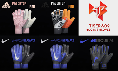 PES 2018 / PES 2019 Mini Glovepack Season 2018/2019 by Tisera09
