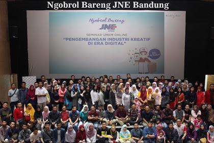 Ngobrol Bareng JNE Bandung, Bahas Pengembangan Industri Kreatif di Era Digital