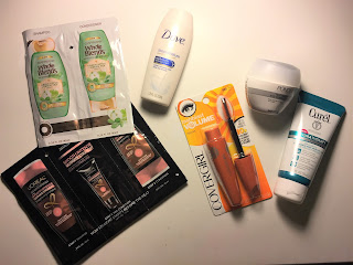 walmart beauty box winter 2017 products