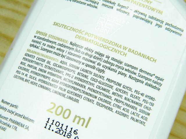 Skład kosmetyków do włosów