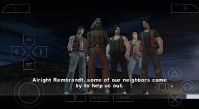 Game The Warriors PSP CSO ISO Ukuran Kecil