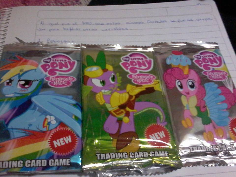 MLP Fake Trading Cards