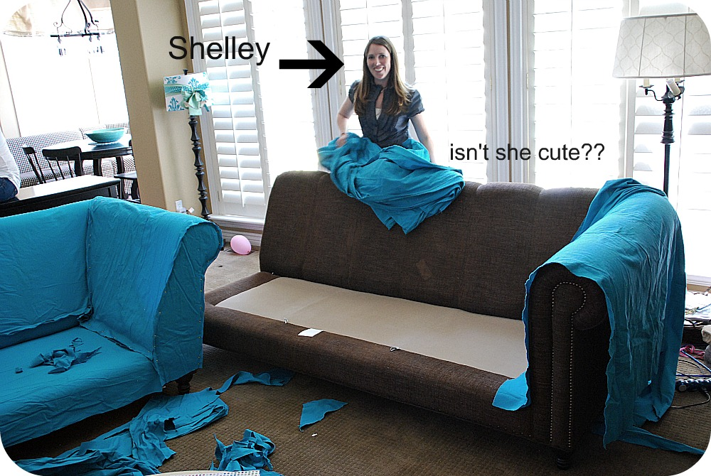 My Slipcovered Sectional And A Giveaway Tatertots Jello. Full Size Of Sofa  Slipcovers ...