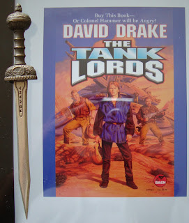 Portada del libro The Tank Lords, de David Drake