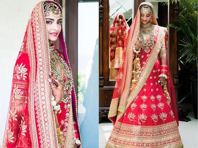 Sonam-kapoor-in-bridal-trousseau