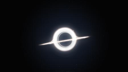 Gargantua inspired by Interstellar movie HD