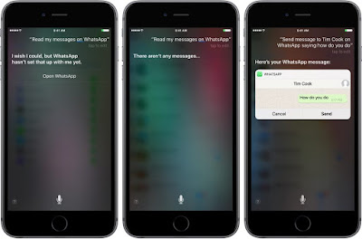 You Can Now Ask Siri to Read Your Latest WhatsApp Messages