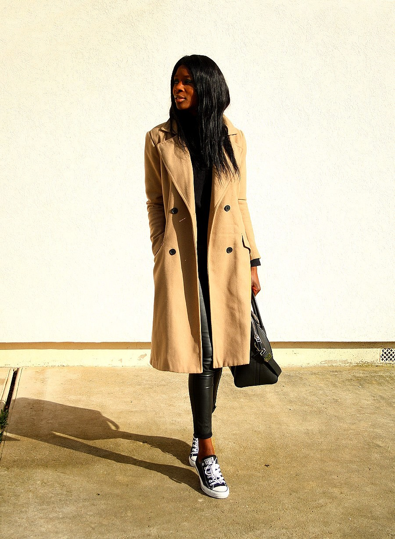 GIvenchy-antigona-converse-manteau-camel-legging-cuir-